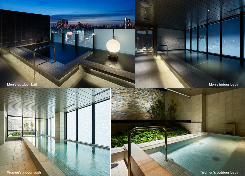 Large Public Bath Mitsui Garden Hotel Gotanda