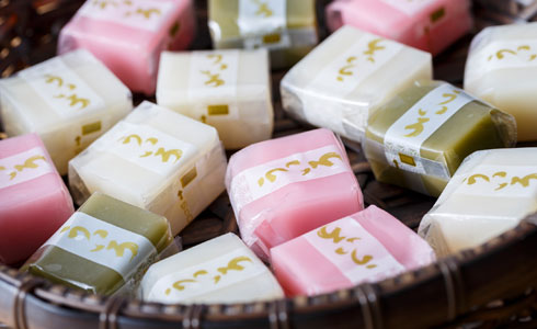 "When it comes to famous sweets from Nagoya, it's got to be ""uiro mochi"""
