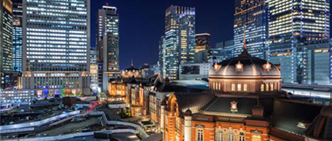 大手町から始まる東京旅
