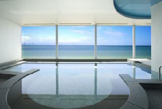 画像: 大浴場の景色