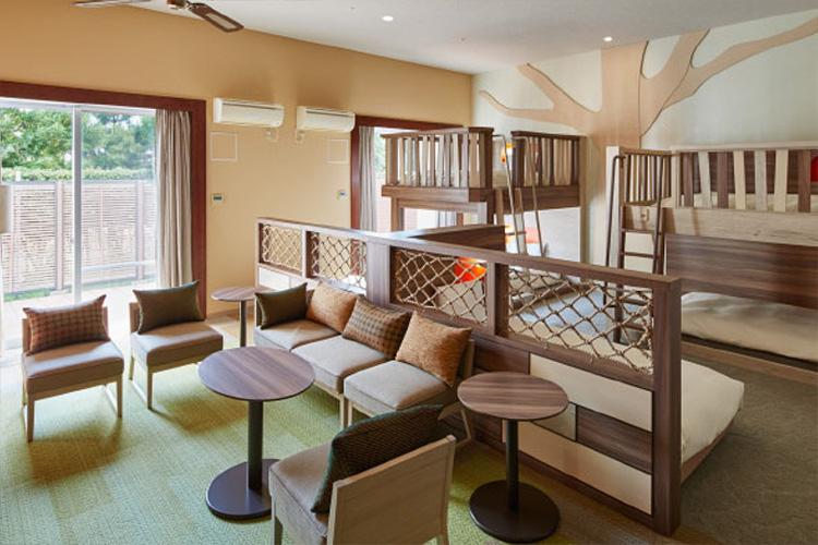 画像: テラス 2段ベッド